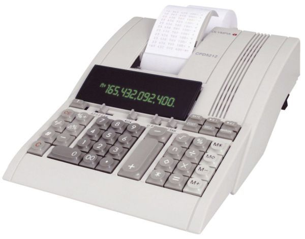 OLYMPIA CPD5212 CALCULATOR