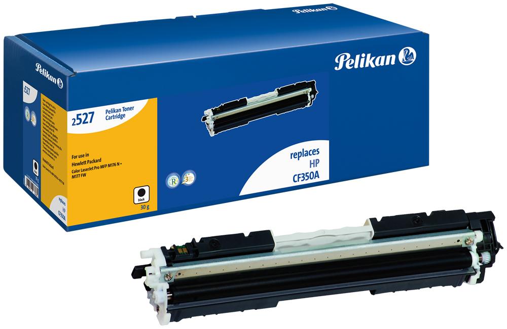 Pelikan Toner für HP CF350A Color LaserJetPro MFP M176N etc. black