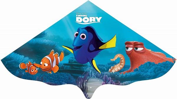 Paul Günther 1105 - Kinderdrachen mit Disney Pixar Finding Dory Motiv, Einleinerdrachen aus robuster