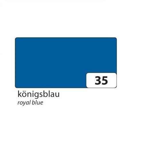 folia Tonpapier 130g/qm DIN A3, 50er Pack Königsblau