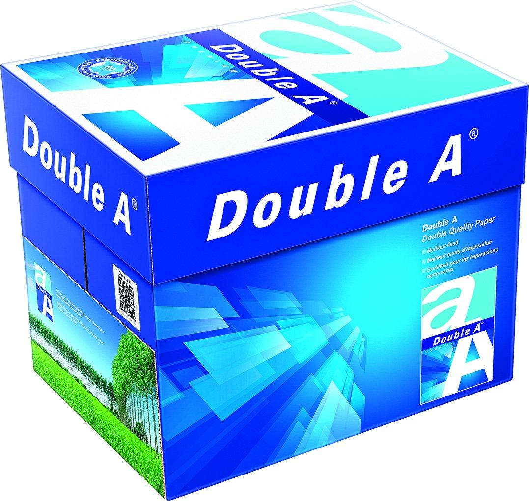 100.000 Blatt Double A Premium Papier 80g/m² DIN-A4 weiß