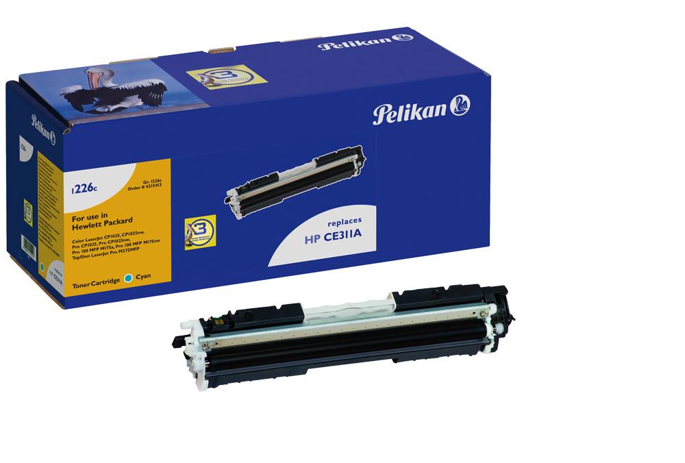 Pelikan Toner 1226 für HP CE311A Color Laserjet CP1025 etc. cyan