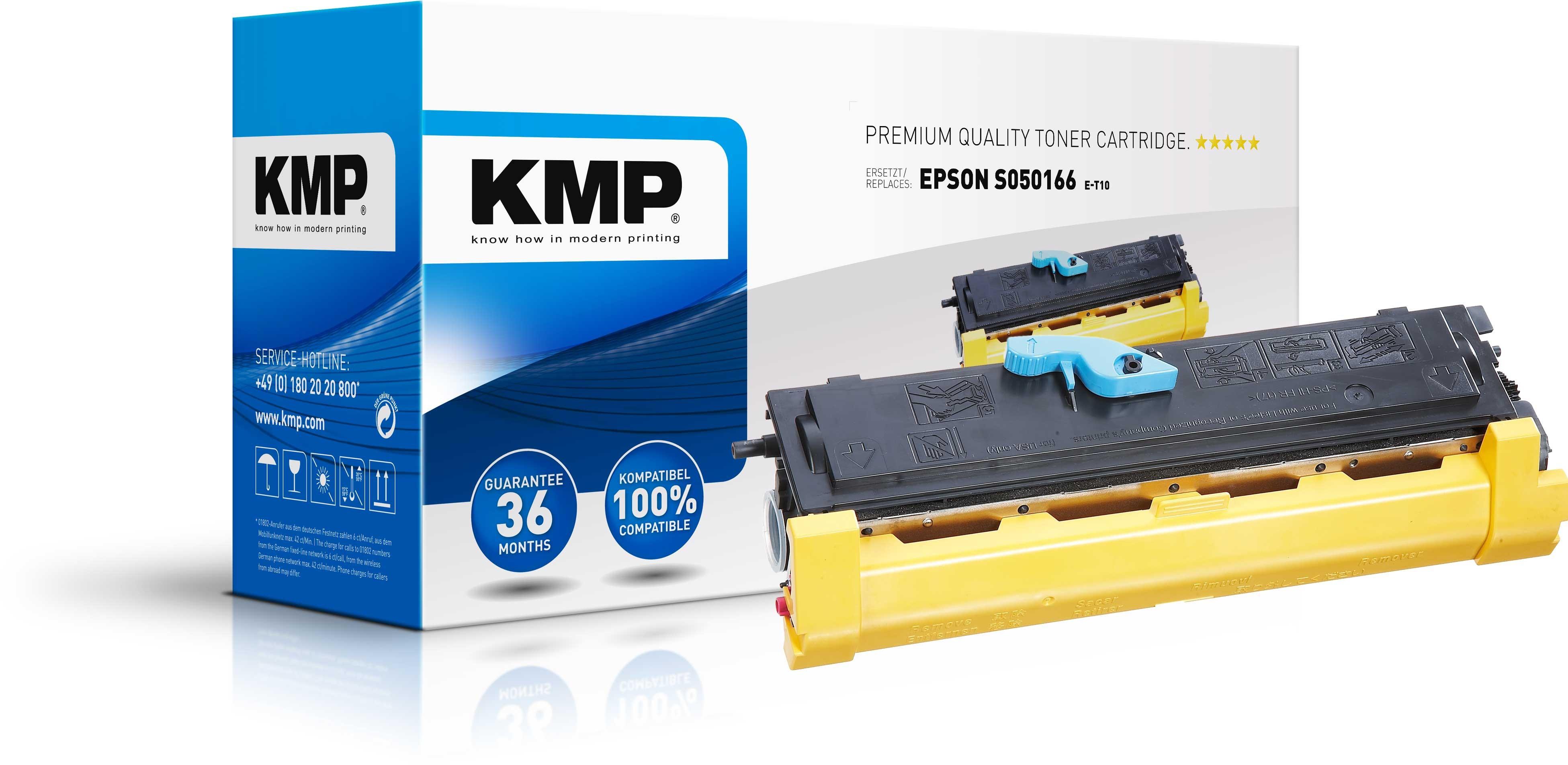 KMP Toner für Epson SO50166 EPL 6200 6200L black