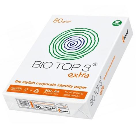 Vorschau: Mondi Bio Top 3 extra 80g/m² DIN-A4 500 Blatt