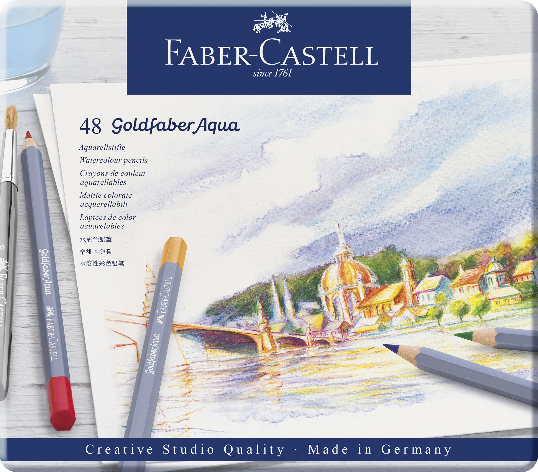 Faber-Castell Goldfaber Aqua Farbstifte 48er Metalletui