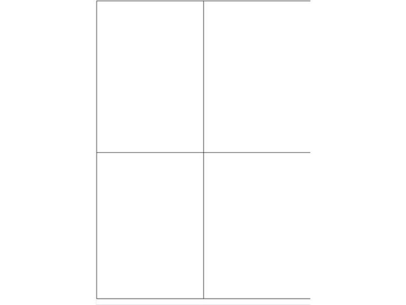 Igepa Etiketten 105,0 x 148,0 mm 100 Blatt in weiß