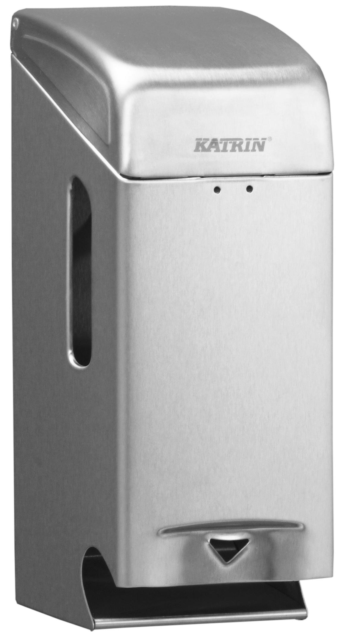 Katrin Toilettenpapierspender Toilett 2-Roll stahl