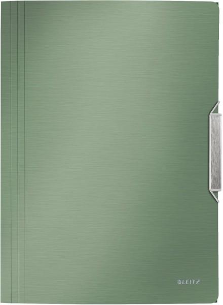 Leitz 39770053 Eckspannermappe Style, A4, PP, seladon grün