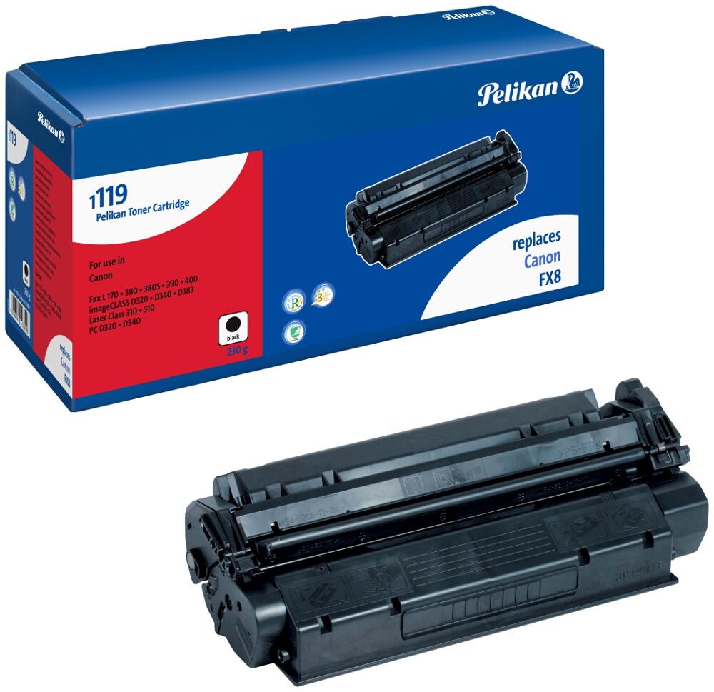 Pelikan Toner 1119 komp. zu 7833A002 Canon Fax L380 / PC-D320 black