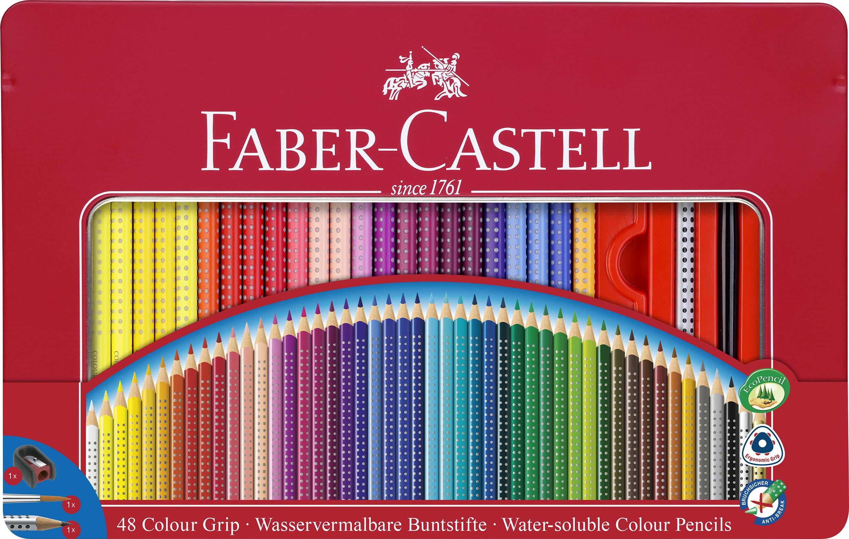 Faber Castell Buntsitfte Color Grip 48er Metallbox