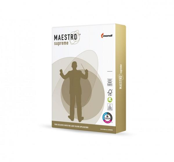 Maestro supreme 160g/m² DIN-A4 - 250 Blatt weiß