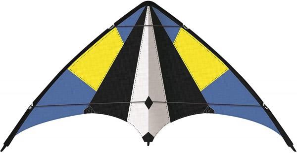 Paul Günther 1074 - Sportlenkdrachen Sky Move 160, Drachen für Anfänger, Segel aus reißfestem Ripsto