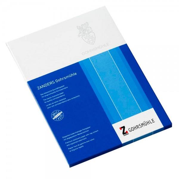 Premium-Briefpapier mit Wasserzeichen Gohrsmühle 100 g, DIN-A4, 200 Blatt, Glatt, matt, weiß – für b