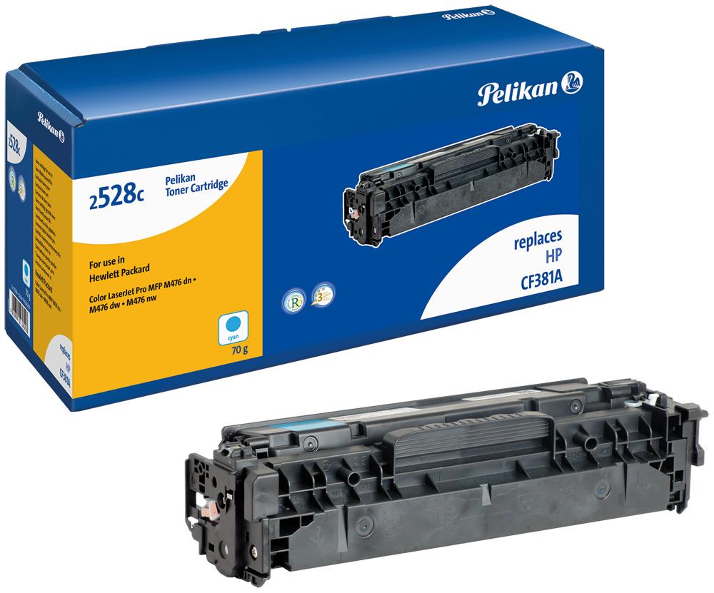 Pelikan Toner 2528c komp. zu CF381A Color Laserjet Pro MFP M476 dn etc. cyan