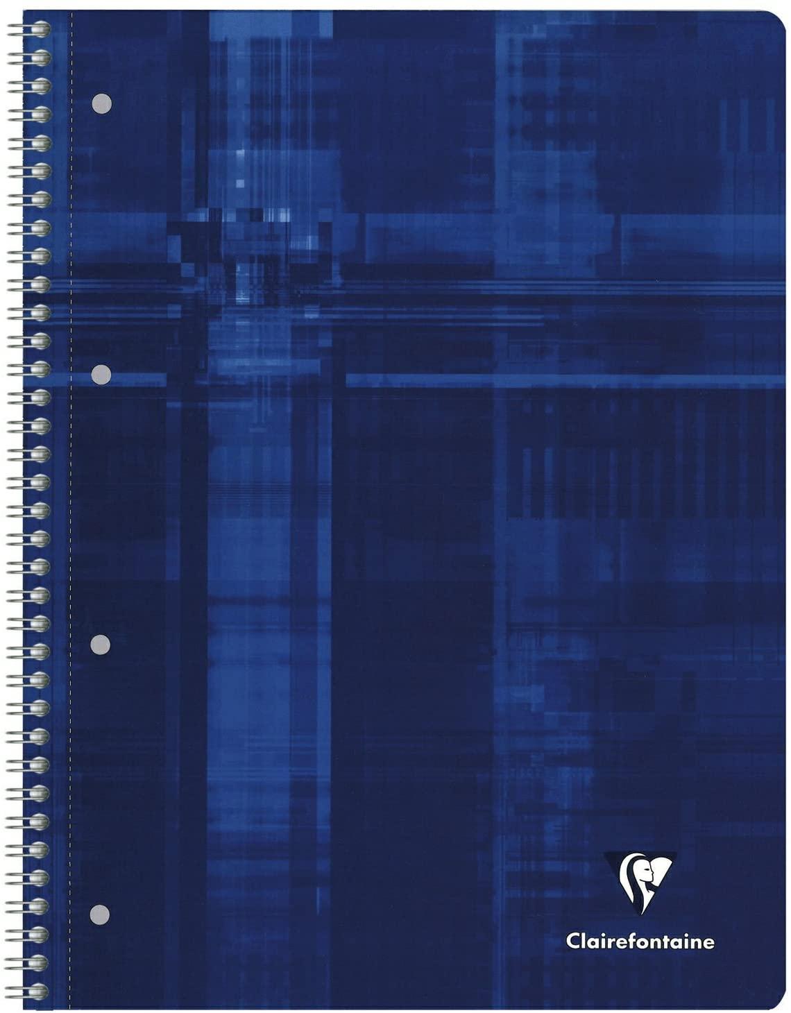 Clairefontaine 8252C Collegeblock (Kariert Lineatur 22, DIN A4, 21 x 29,7 cm, 80 Blatt) 1 Stück zufä