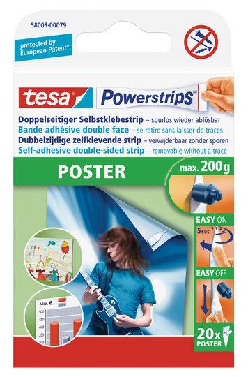 tesa Powerstrips Poster, 20 Stk