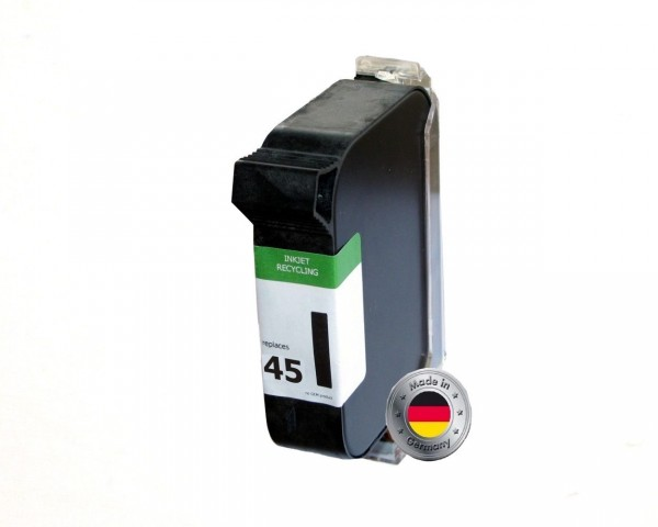 SAD Patrone für HP 45 / 51645-AE black