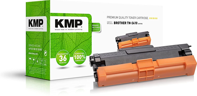 KMP Toner Kompatibel Brother HL-L2310 (1200 Seiten) - TN2410 für Brother DCP-L2510D, L2530DW, L2550D