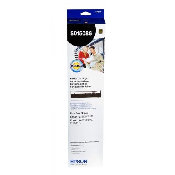 Original EPSON Farbband LQ2170 / 2070 / LQ-2180 SCHWARZ SO15086