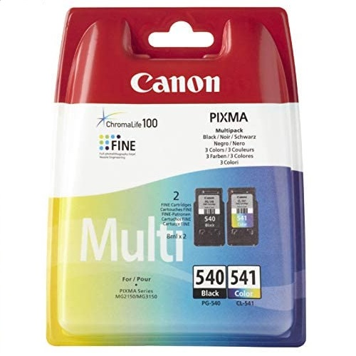 Original Canon 5225B005, 5227B005 / PG-540, CL-541, für Pixma MX 430 Series 2x Premium Drucker-Patro