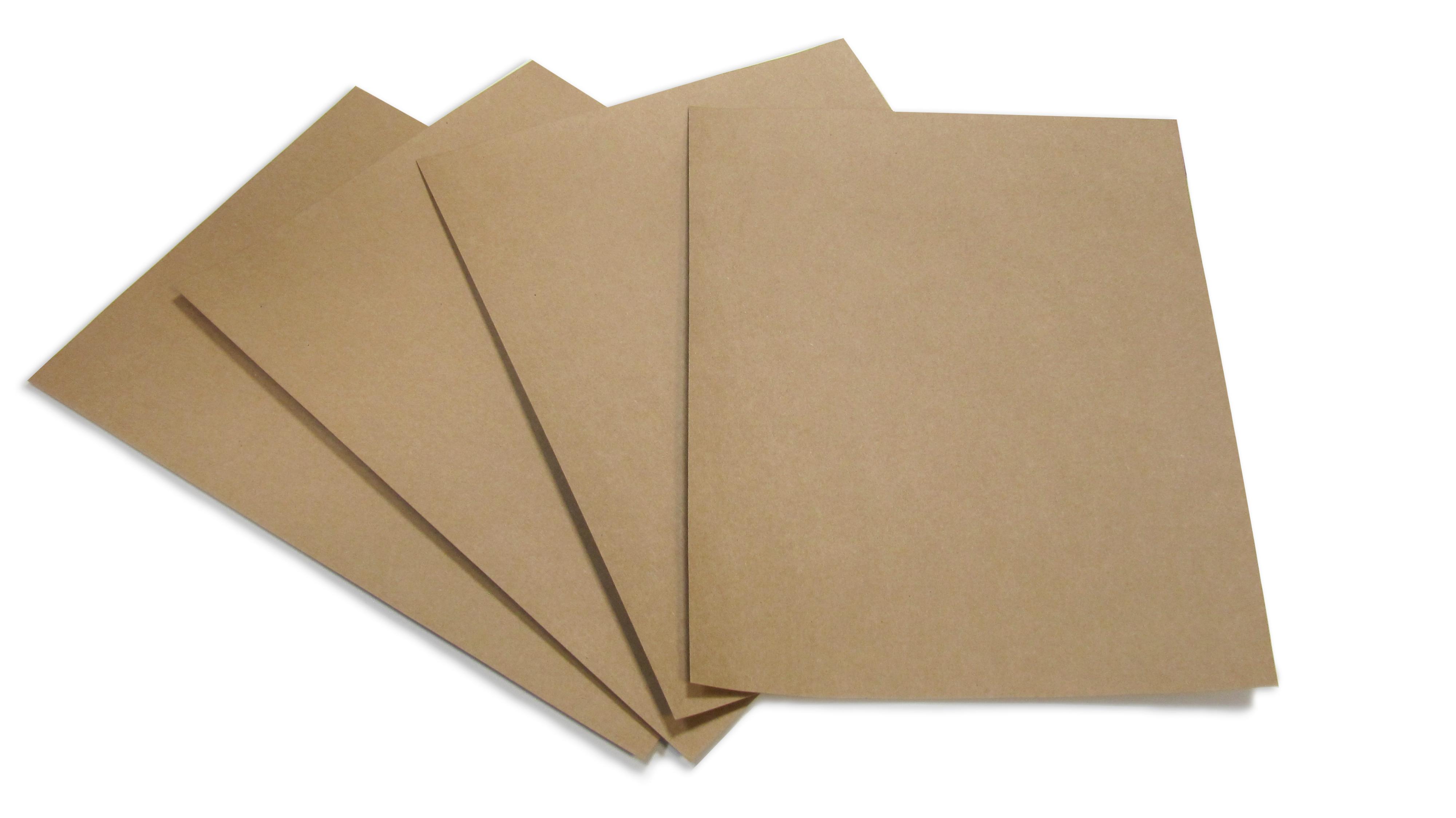 Clairefontaine Pollen DIN-A4 - 210x297 Kraftpapier 200g/m² Kartonbraun 25 Blatt