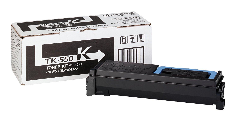Original Kyocera Toner TK-550K für FS-C5200DN black