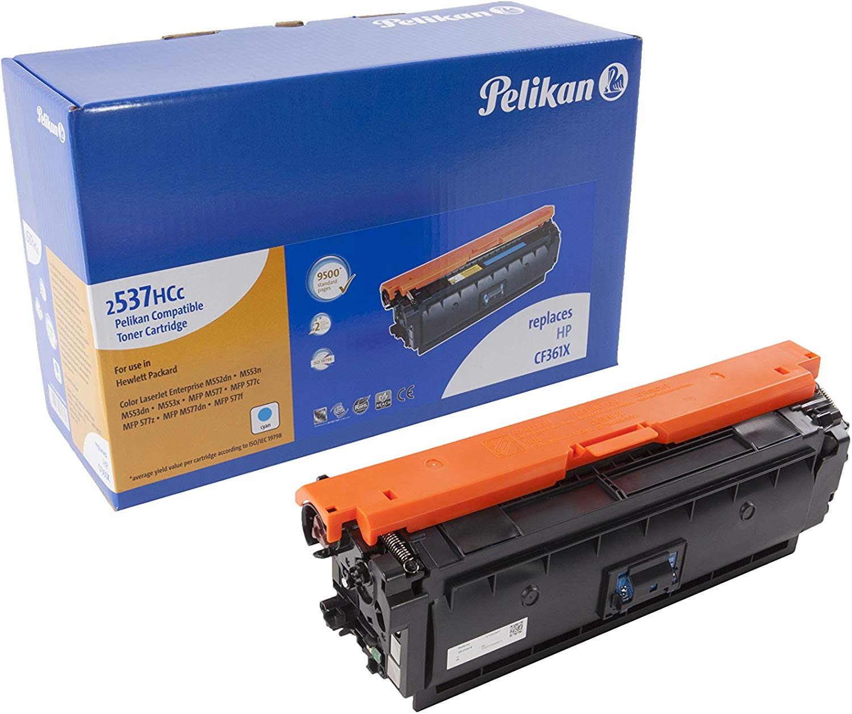 Pelikan Toner ersetzt HP CF361X, Cyan, 9500 Seiten