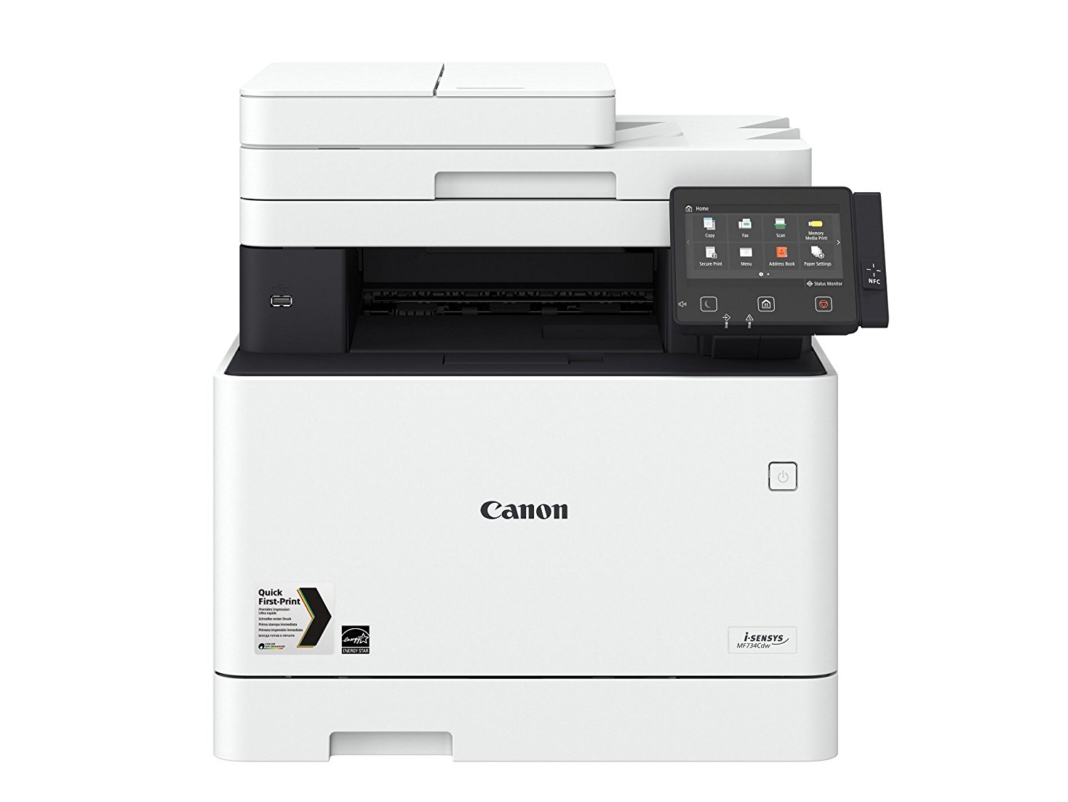 CANON i-SENSYS MF734Cdw  DIN A4,4in1,Farbl.,DADF,PS,WiFi