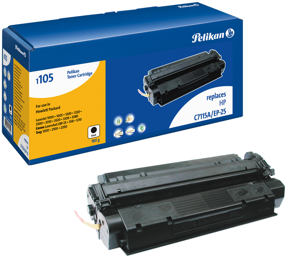 Pelikan Toner 1105 SR komp. zu C7115A HP LaserJet 1000 black