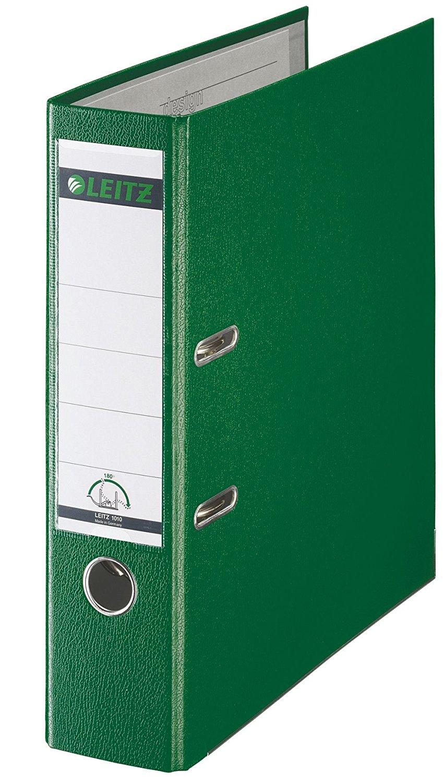 Leitz Qualitäts-Ordner 180° Plastik - A4, 80 mm, grün