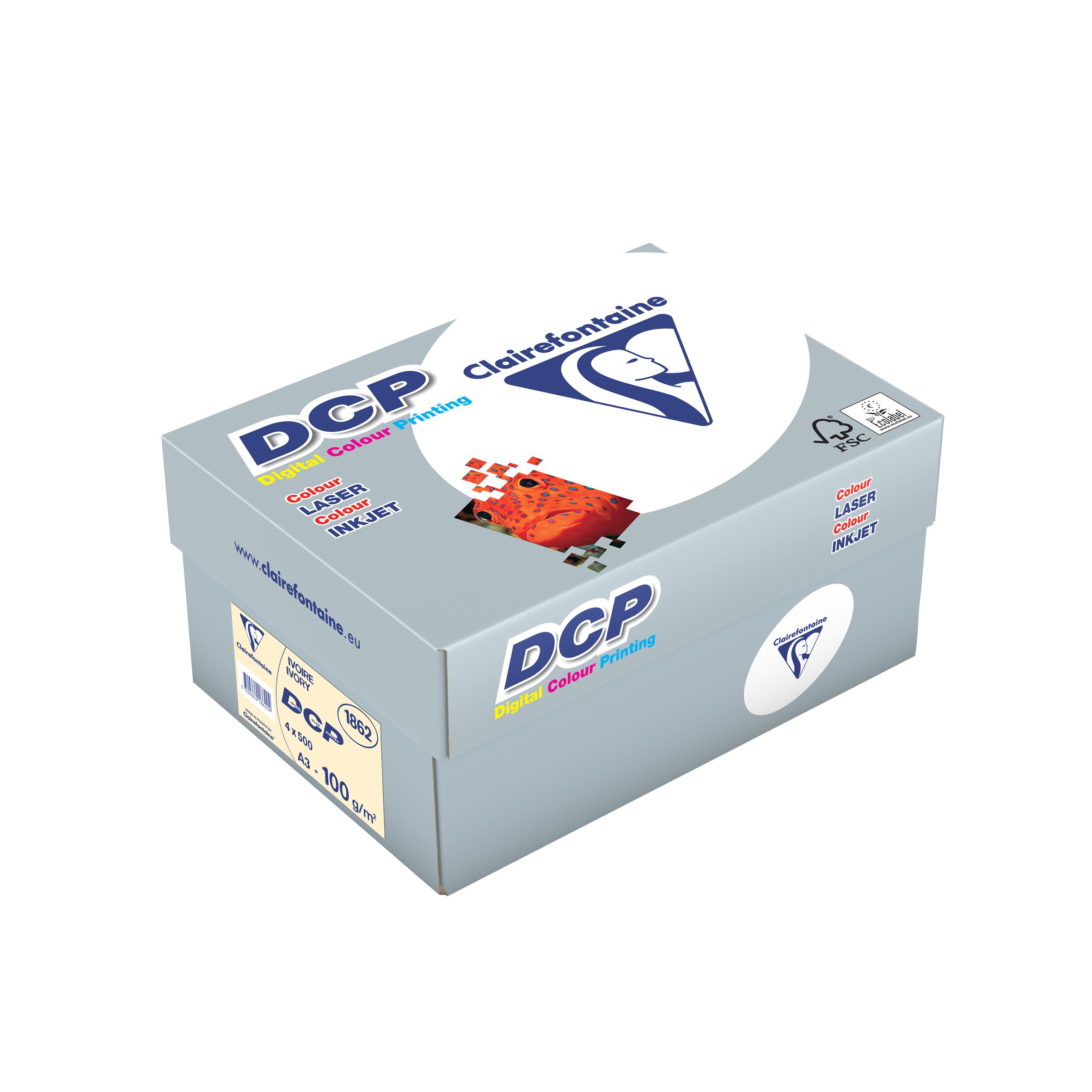 Vorschau: Clairefontaine DCP Ivory elfenbein digital color printing 100g/m² DIN-A3 2000 Blatt 1862C
