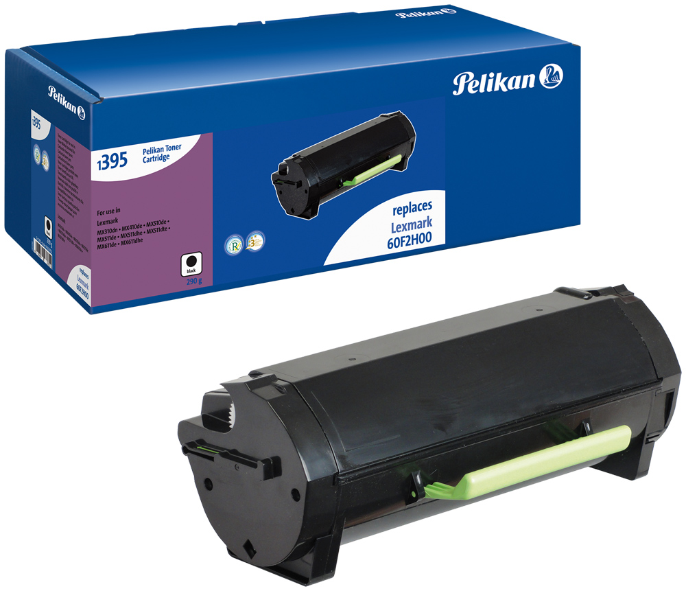 Pelikan Toner 1395 komp. zu 60F2H00 Lexmark MX310 dn etc. black