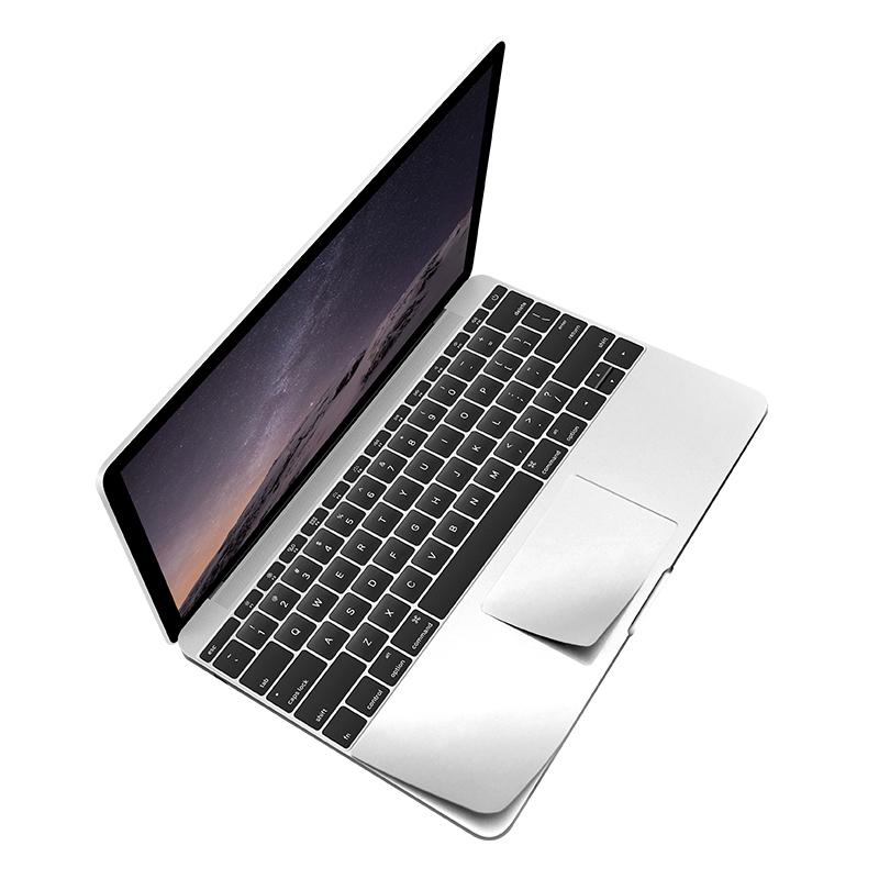 KMP Schutzfolie für Apple 12 Zoll MacBook silber / silver