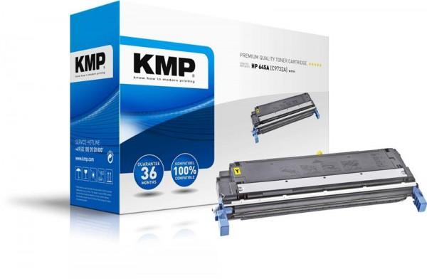 KMP Toner kompatibel mit HP 645A (C9732A) Laserjet 5500/5550 gelb H-T111