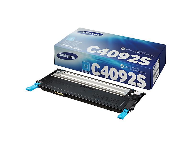 Vorschau: Original Toner Samsung CLT-C4092S für CLP-310 usw. cyan