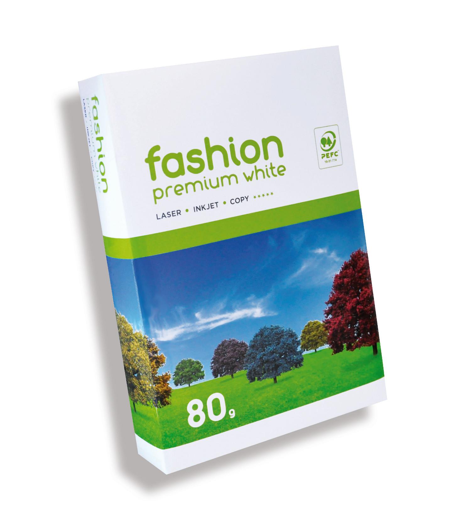 Fashion Premium white Papier 80g/m² DIN-A4 500 Blatt weiß
