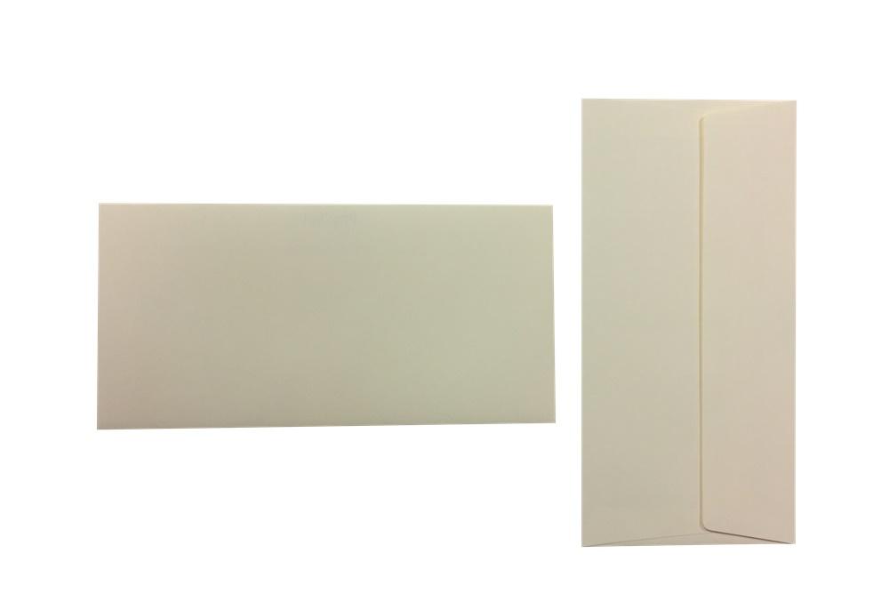 Pop'Set Umschläge DIN Lang elfenbein 120g/m² 100 Stück