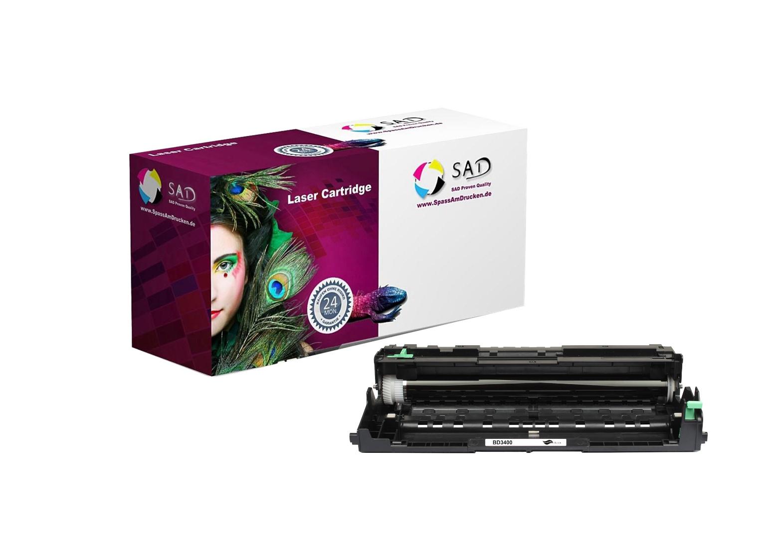 SAD Premium Trommel kompatibel mit Brother DR-3400 - ca. 50.000 Seiten