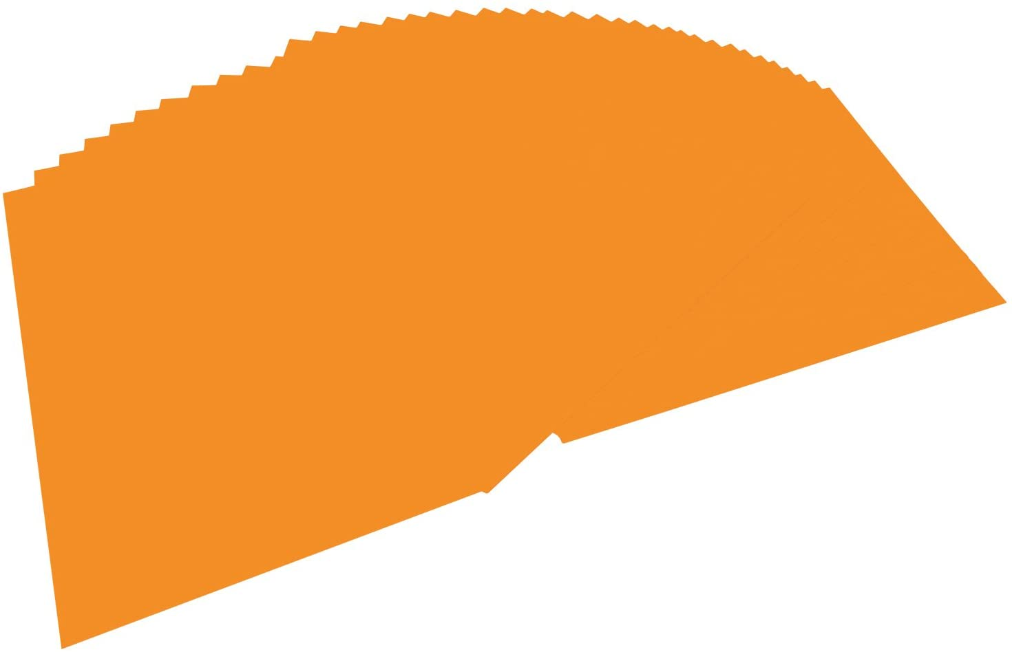 folia 6417 - Tonpapier ocker, DIN A4, 130 g/qm, 100 Blatt - zum Basteln und kreativen Gestalten von