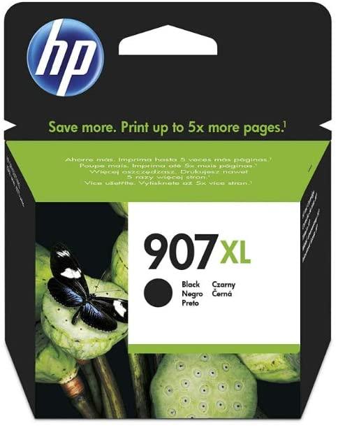 HP 907XL Schwarz Original Druckerpatrone mit hoher Reichweite für HP Officejet Pro