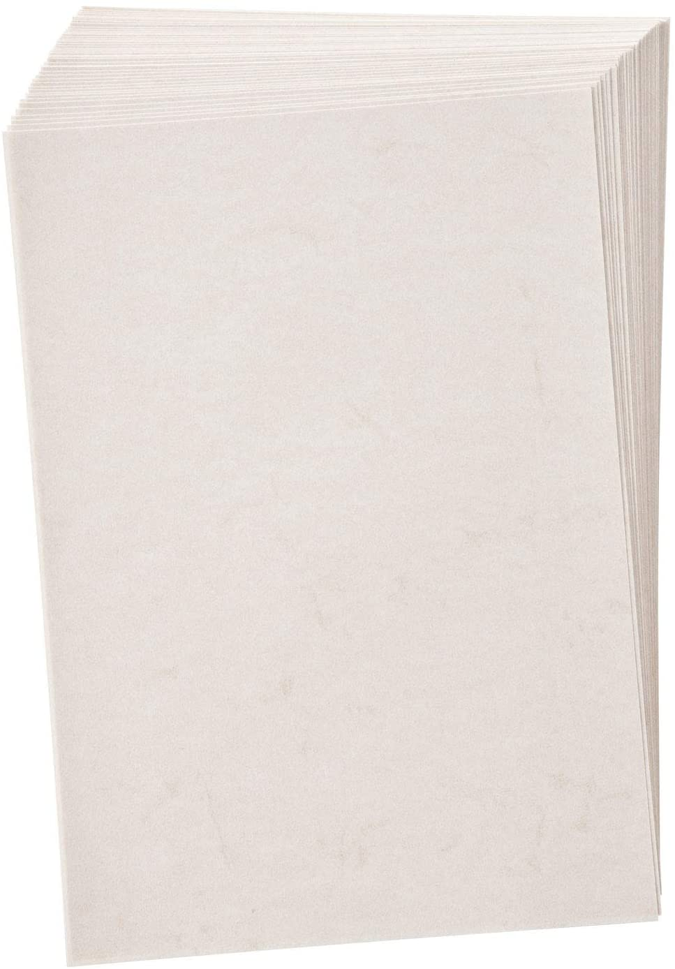 folia 950400 - Elefantenhaut, Urkundenpapier, 50 Blatt, 110 g/qm, DIN A4, weiß - elegantes Papier fü