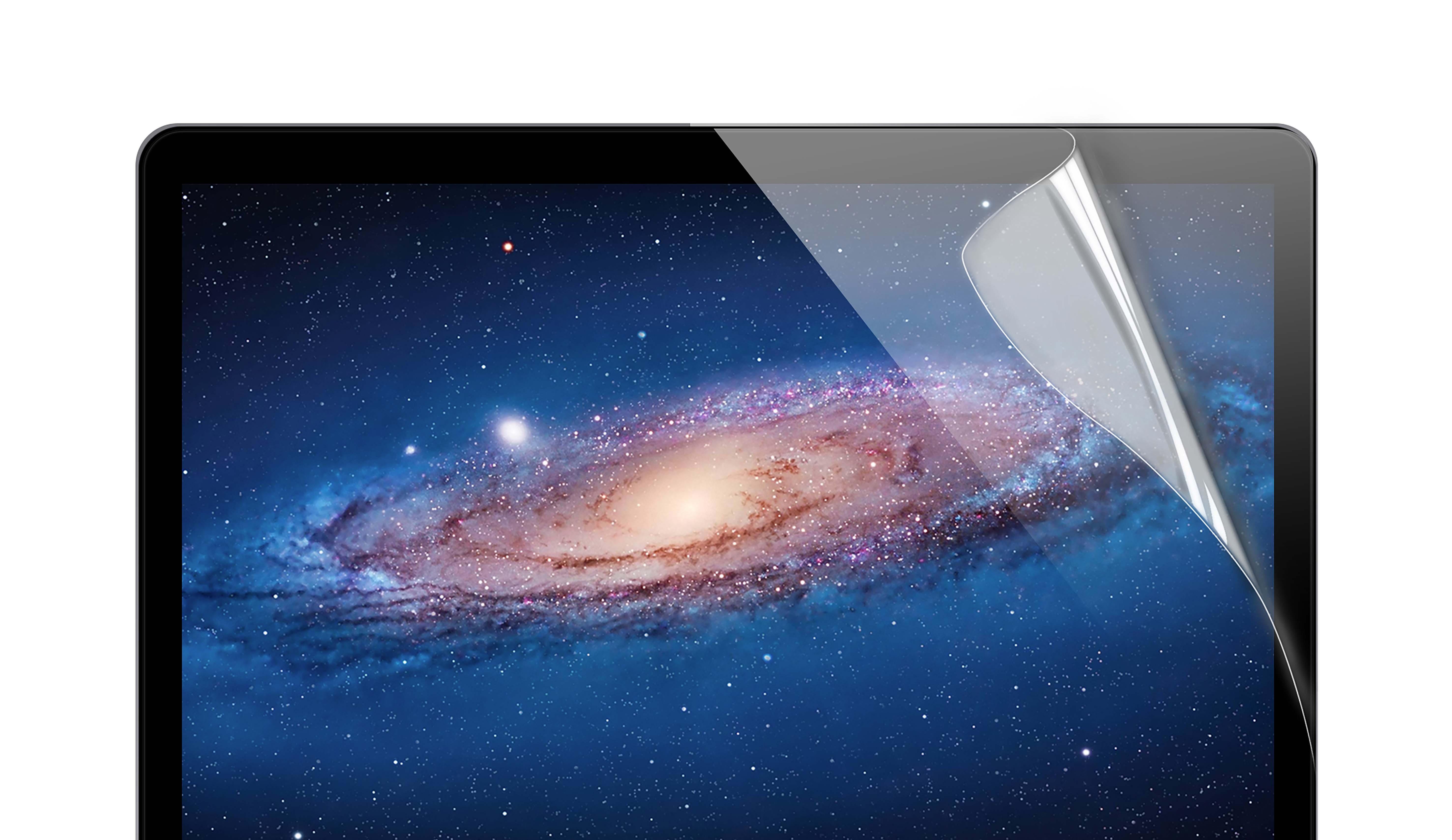 KMP Schutzfolie für Apple 15 Zoll MacBook Pro transparent / clear