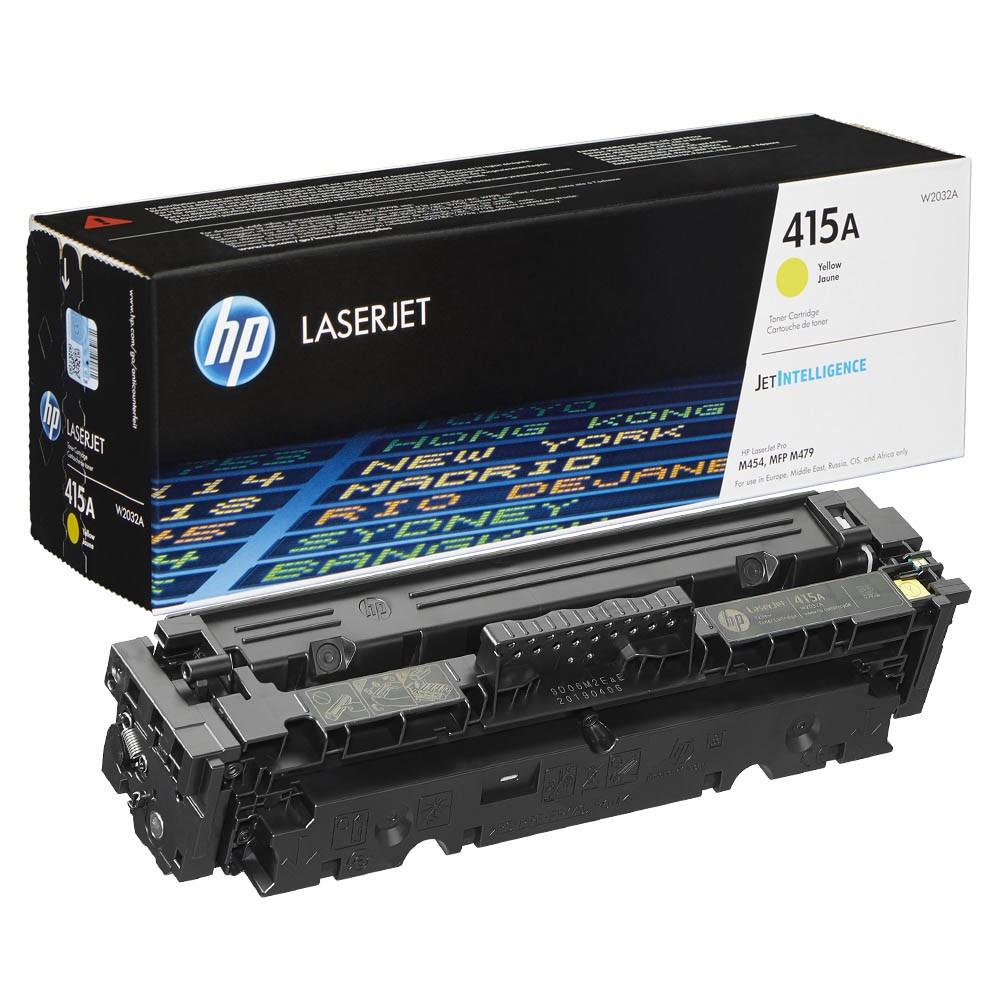 Original HP 415A (W2032A) yellow Toner HP Color LaserJet Pro M454/MFP M479