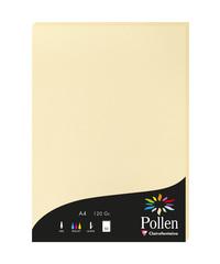 Clairefontaine Pollen Papier Chamois 120g/m² DIN-A4 50 Blatt