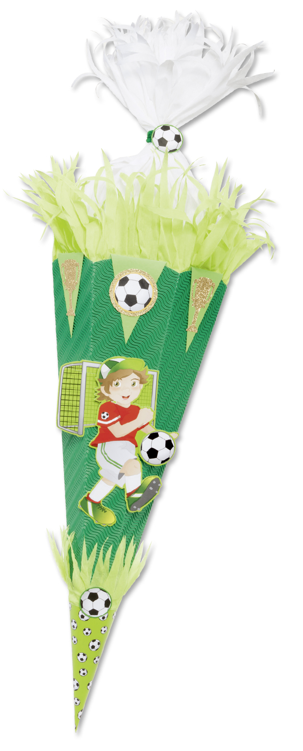 Folia Schultüten-Bastelset Fussballer