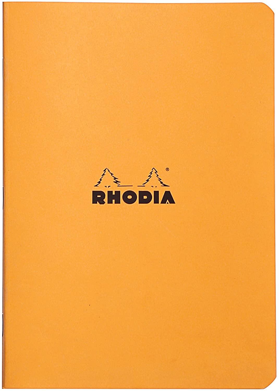 Rhodia 119185C Heft (DIN A5, 14,8 x 21 cm, liniert, 48 Blatt) 1 Stück farbig sortiert