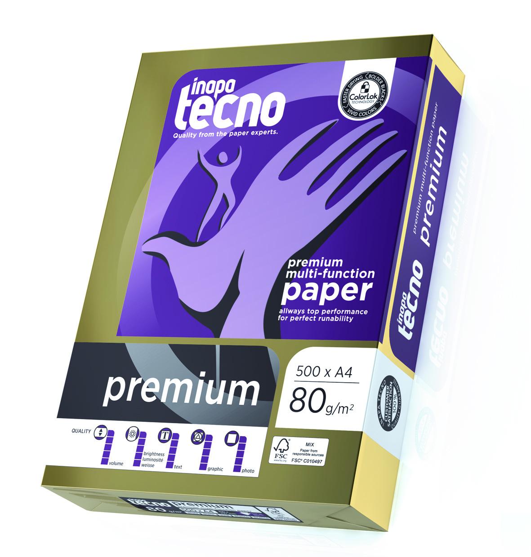 100.000 Blatt Inapa tecno Premium 80g/m² DIN-A4 weiß
