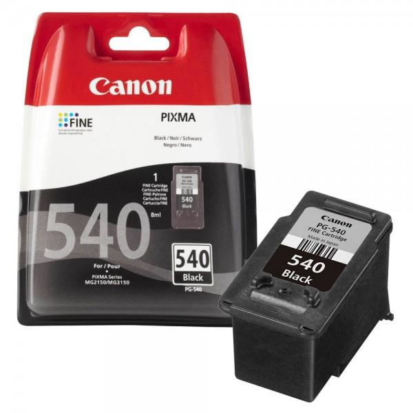Original Canon PG-540 Tintenpatrone, Schwarz, MG2150, MG2250, MG3150, MG3250