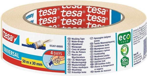 Tesa Universal Klebeband, 30 mm x 50 m, 10 Stück