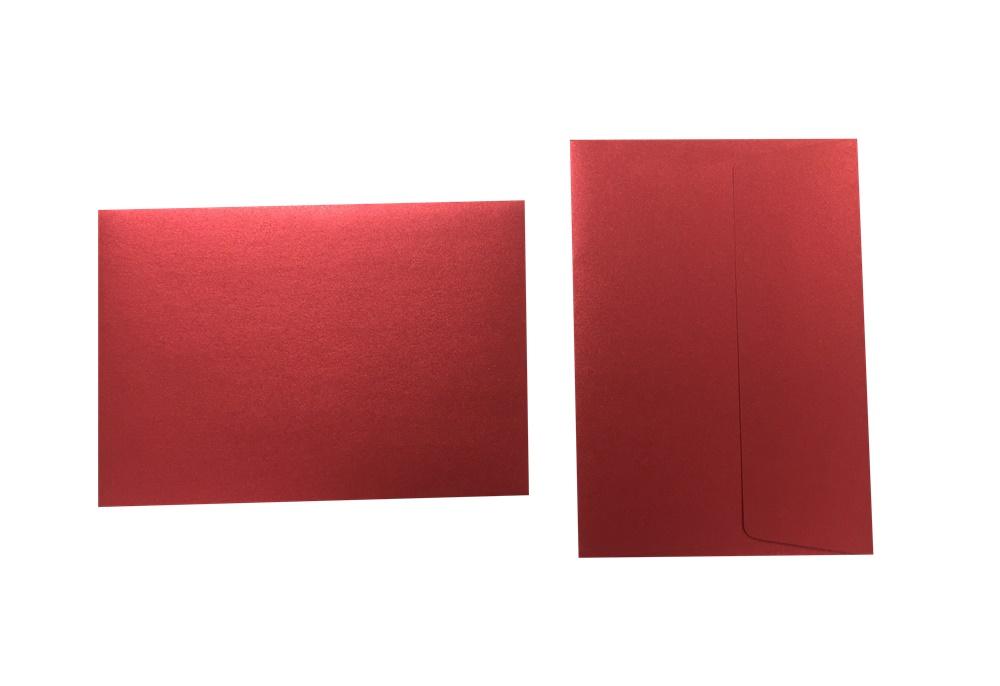 Inapa Shyne Umschläge C6 Red Diamond 120g/m² 100 Stück